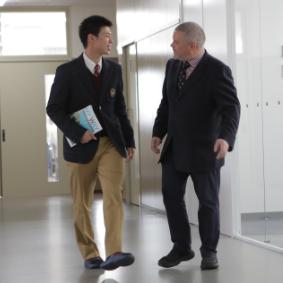 関西高校での生活風景07