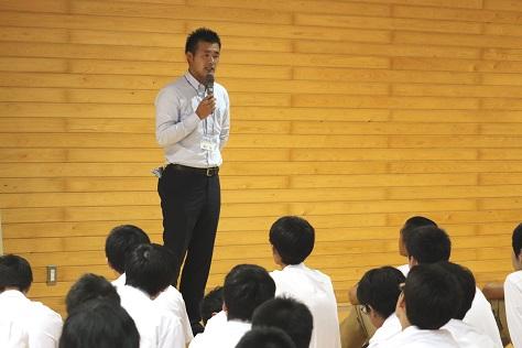 教育実習生講話