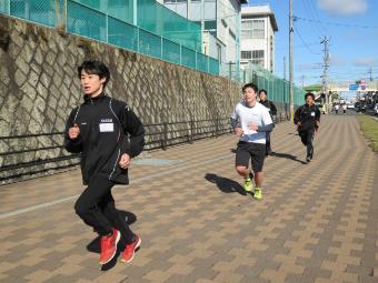 耐寒マラソン