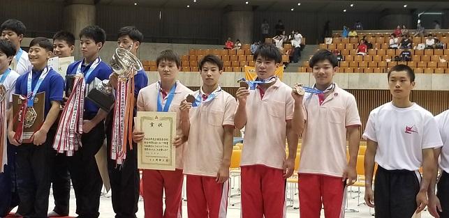 東海高校総体インターハイ2018 体操競技