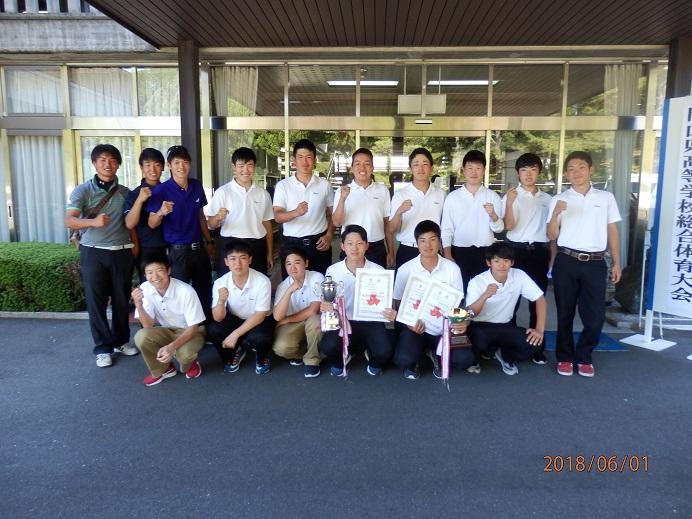 第57回岡山県高等学校総合体育大会 ゴルフ競技の部の結果について