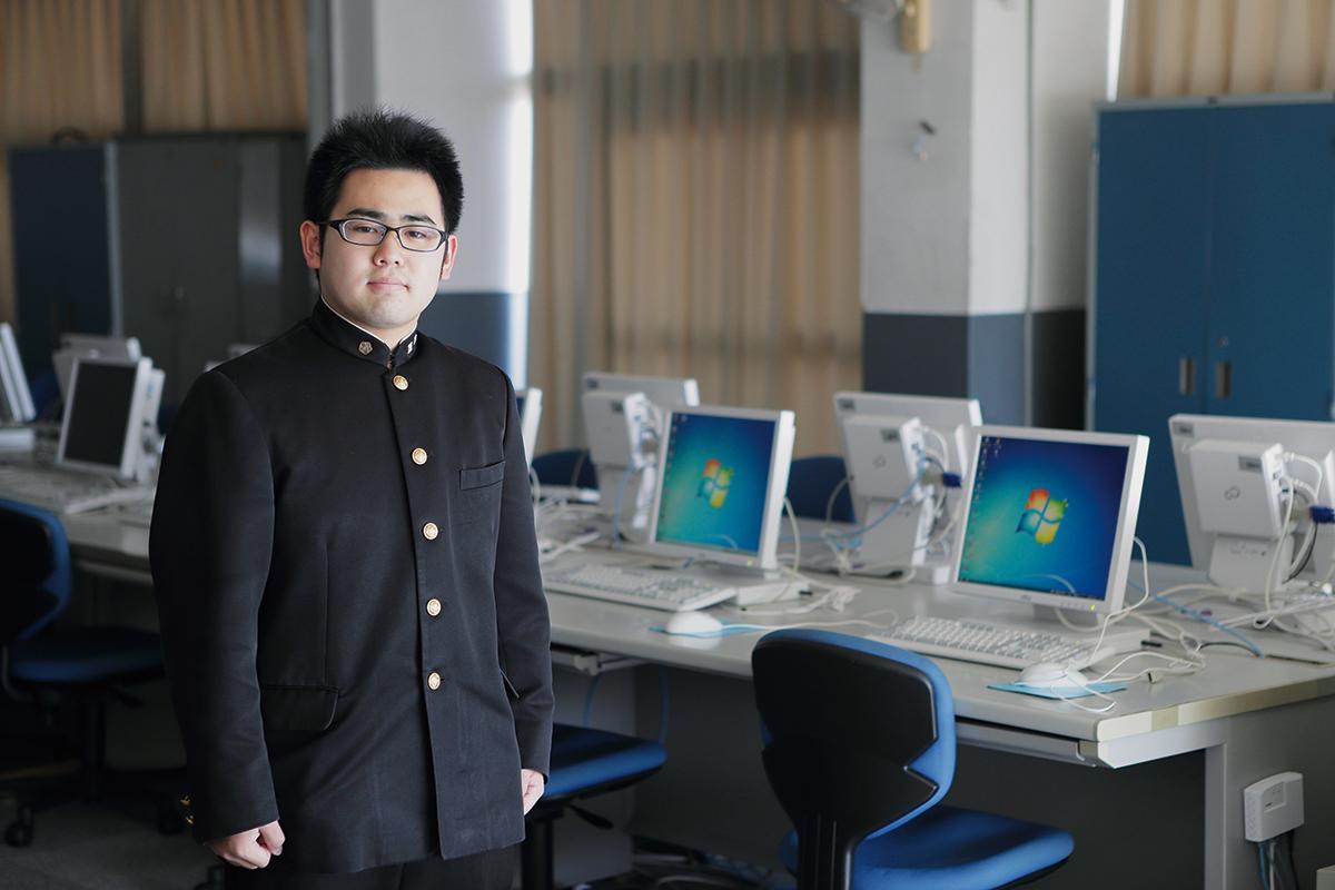 番能大輔さん(平成28年度卒業生)