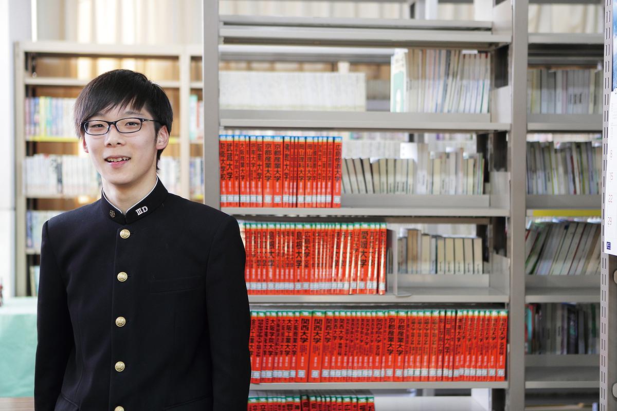 守屋陽一朗さん(平成28年度卒業生)