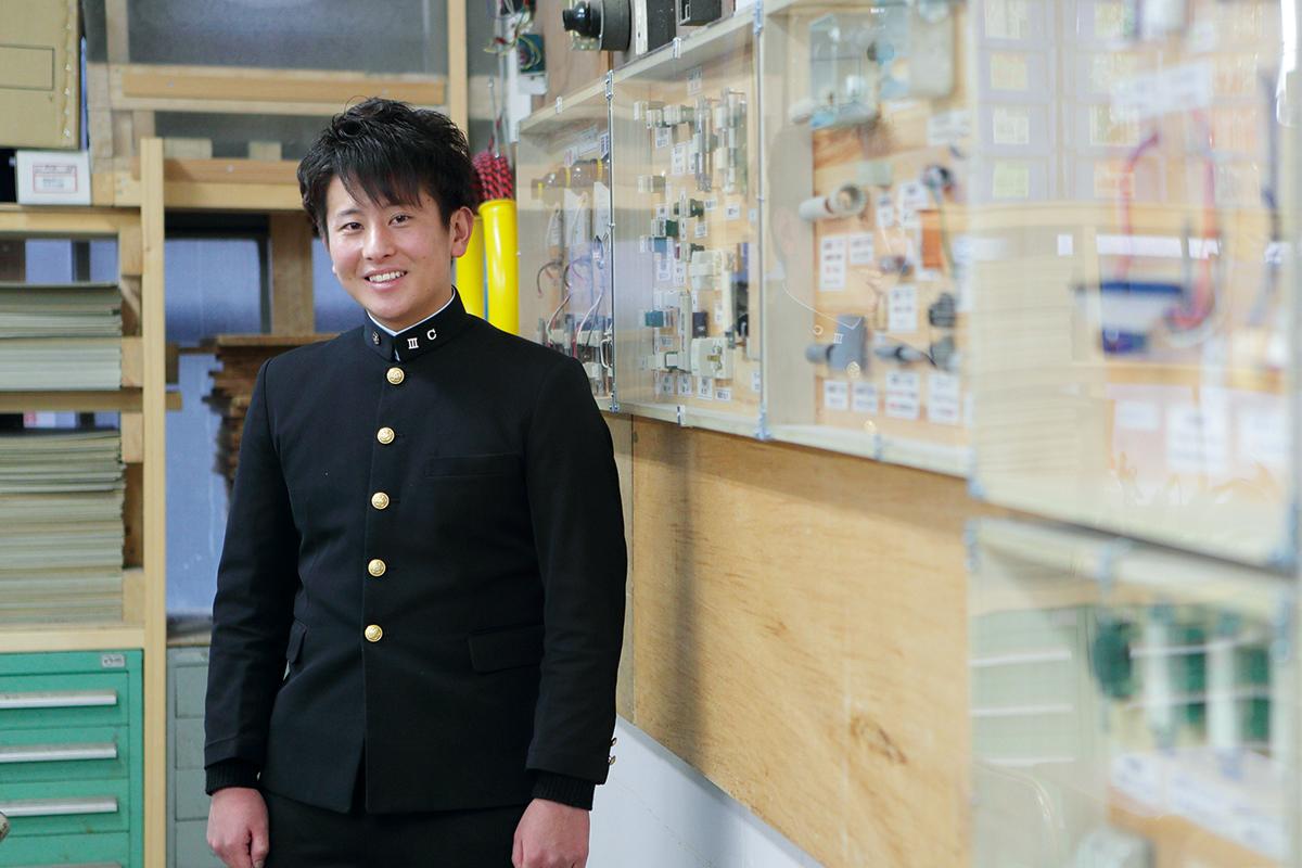 安倉大河さん (平成28年度卒業生)