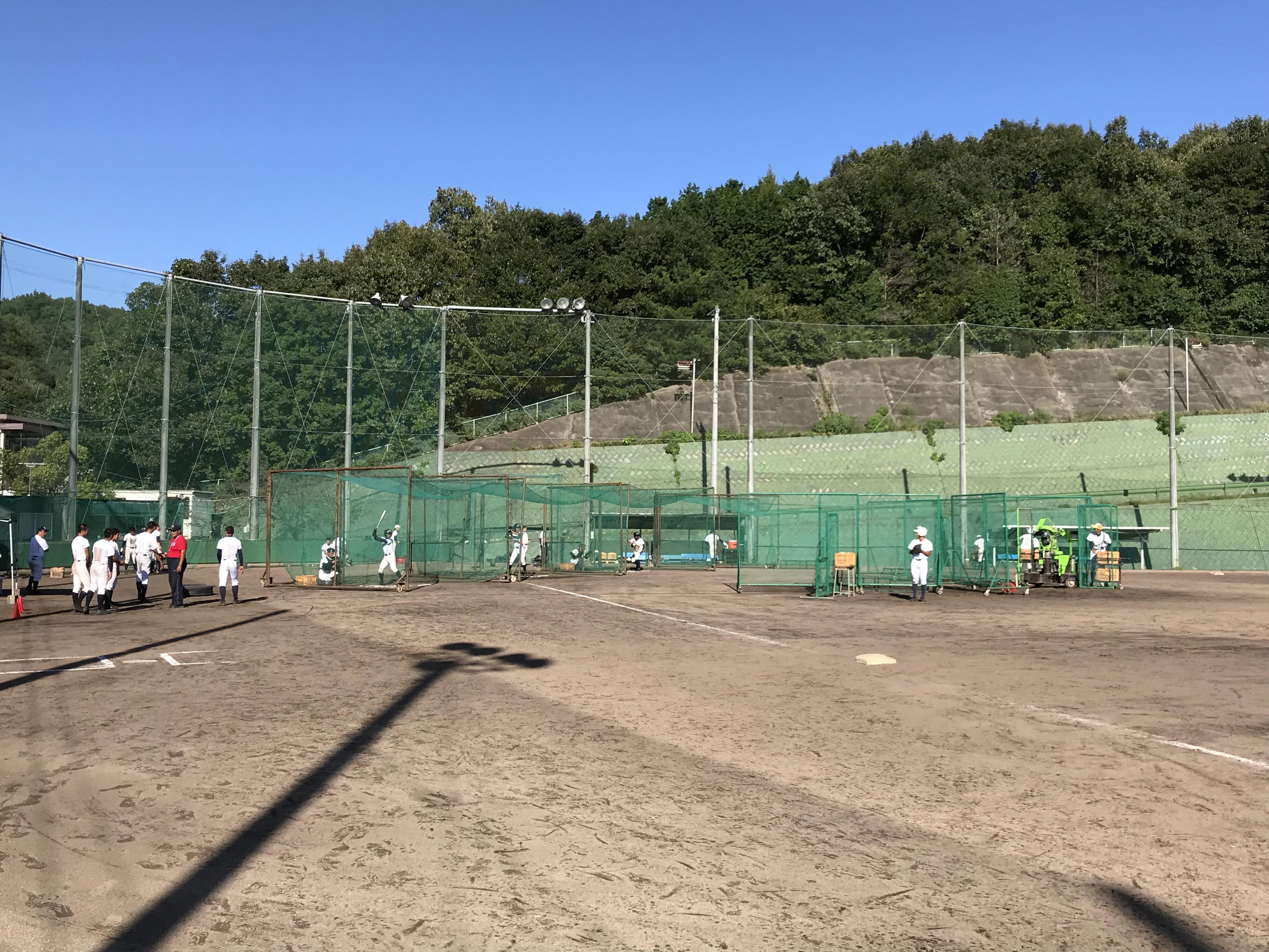 秋季県大会  準々決勝に向けて調整