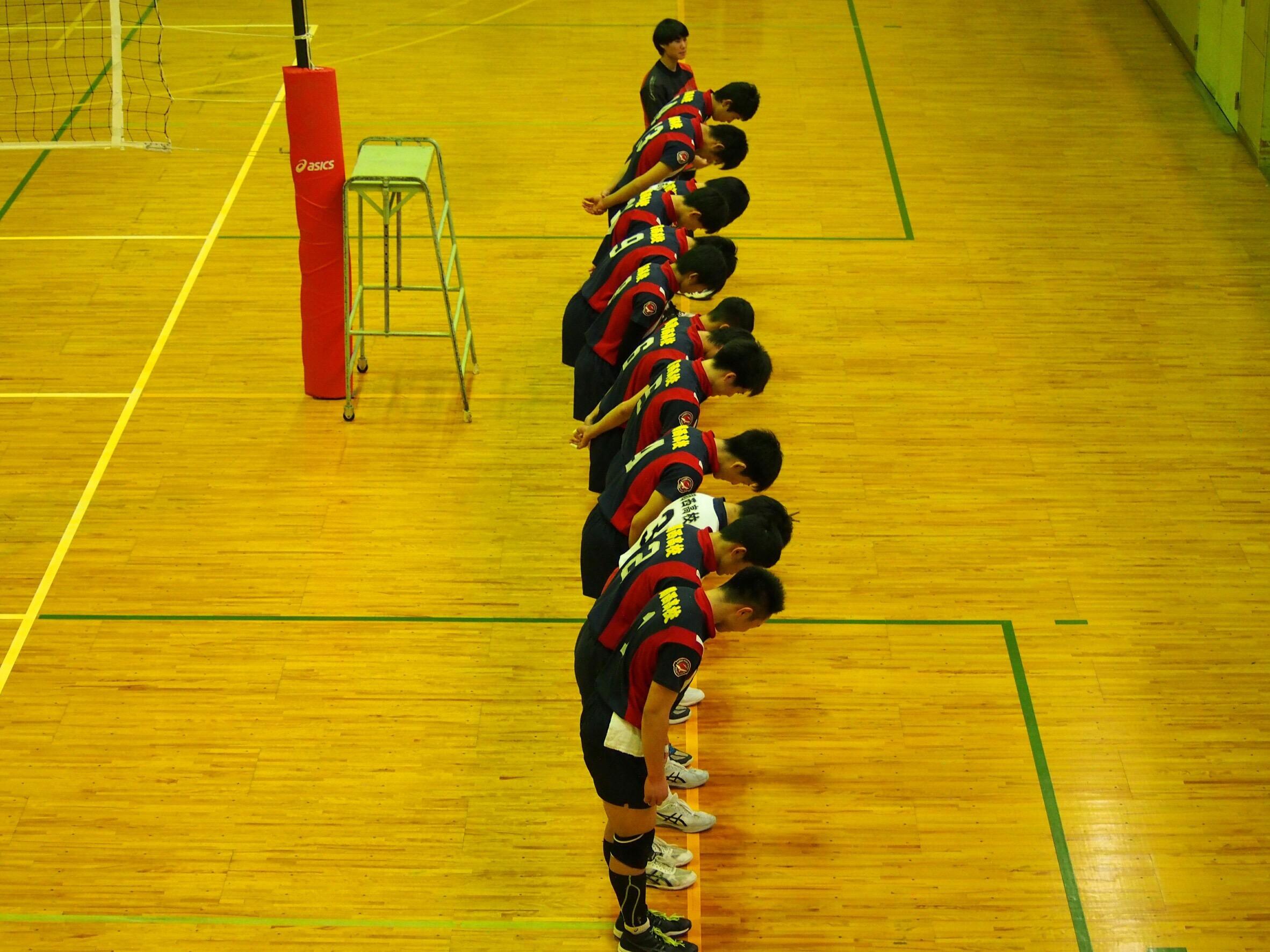 平成30年度岡山県高等学校男女バレーボール新人大会