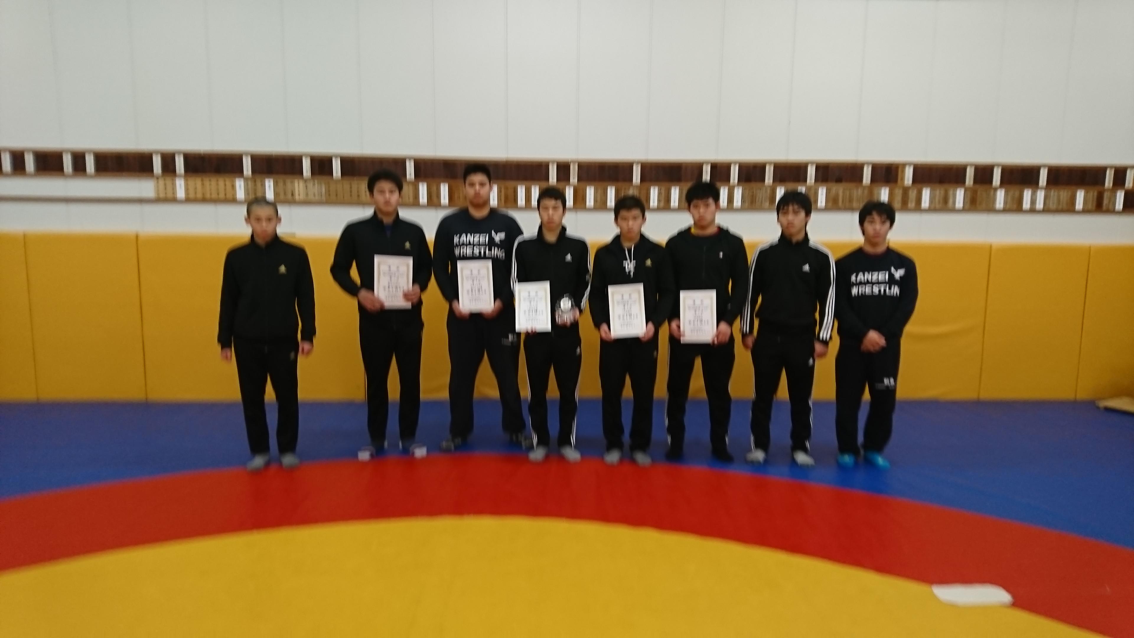第34回中国高校選抜レスリング大会