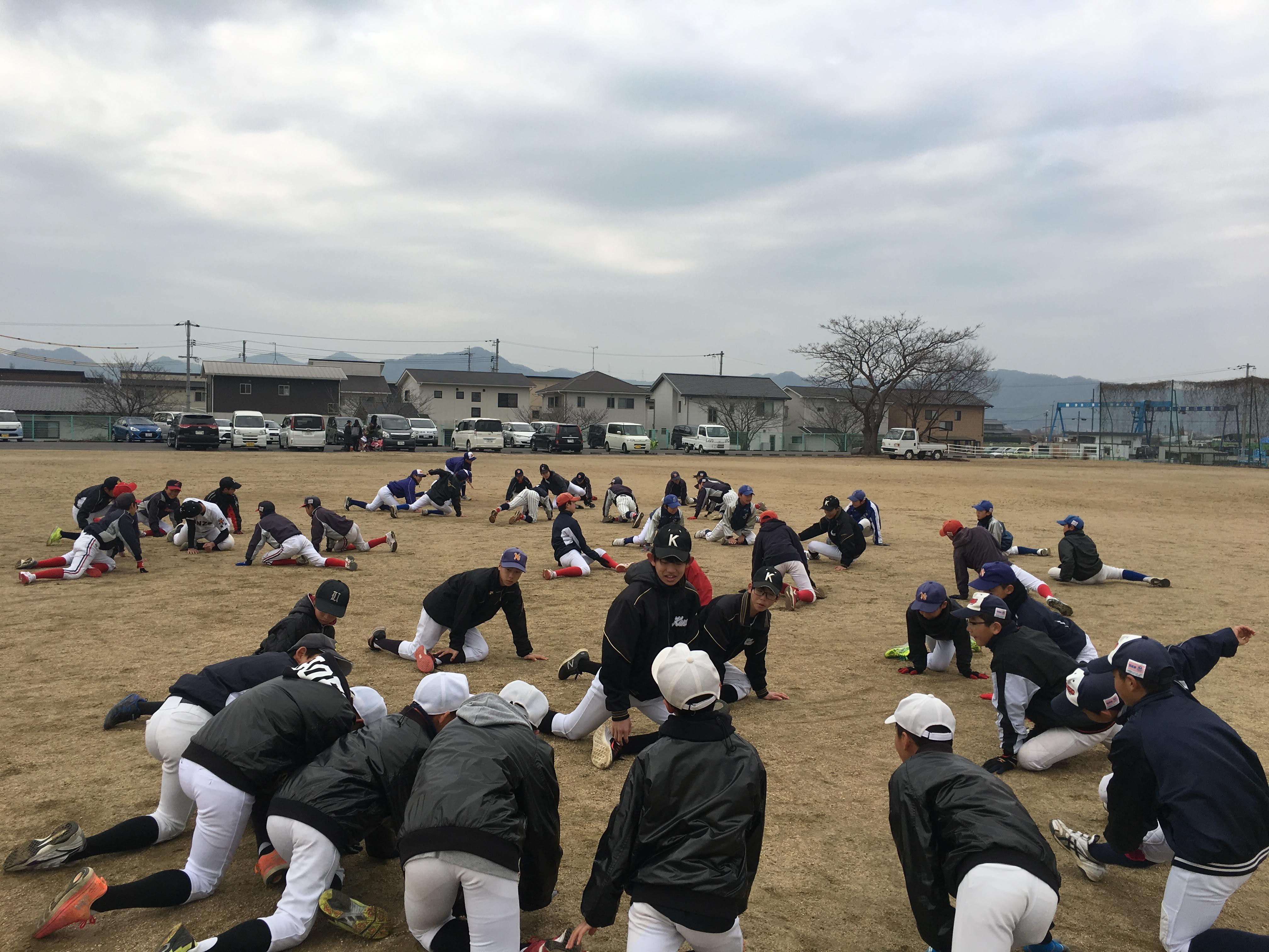 岡山地区学童・スポーツ少年団対象軟式野球教室