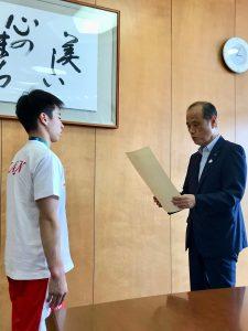 岡山市特別スポーツ栄誉賞・受賞