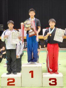全日本ジュニア体操競技選手権大会、団体第3位、個人総合3位!