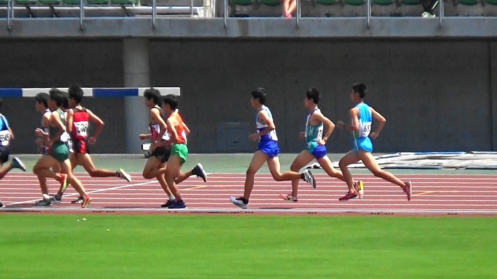 第52回県高校選手権1日目の様子