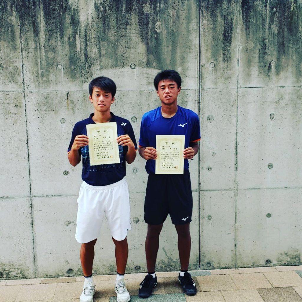 全日本ジュニア選抜室内テニス選手権 中国予選