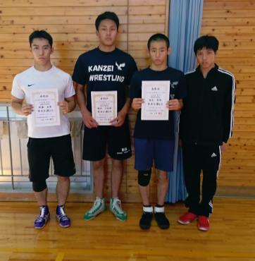 第63回岡山県高等学校新人レスリング大会