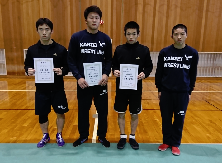 第35回岡山県高等学校選抜レスリング大会
