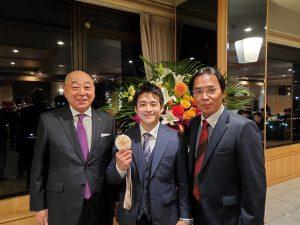 岡山県体操協会主催の祝賀会が開催されました!