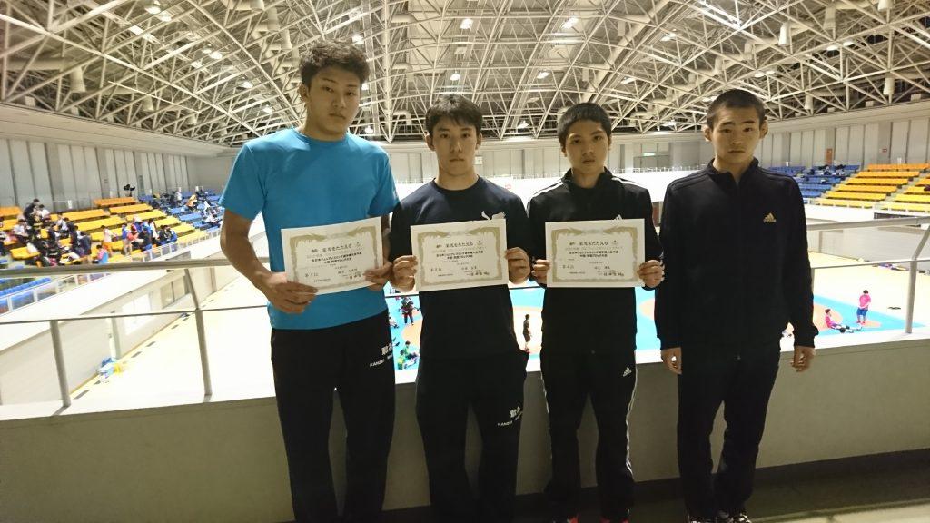 2019年度JOCジュニアオリンピックカップ全日本ジュニアレスリング選手権大会予選 中国・四国ブロック大会