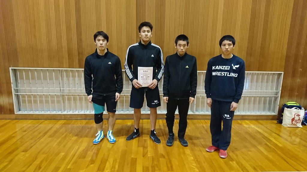 第35回中国高等学校選抜レスリング大会