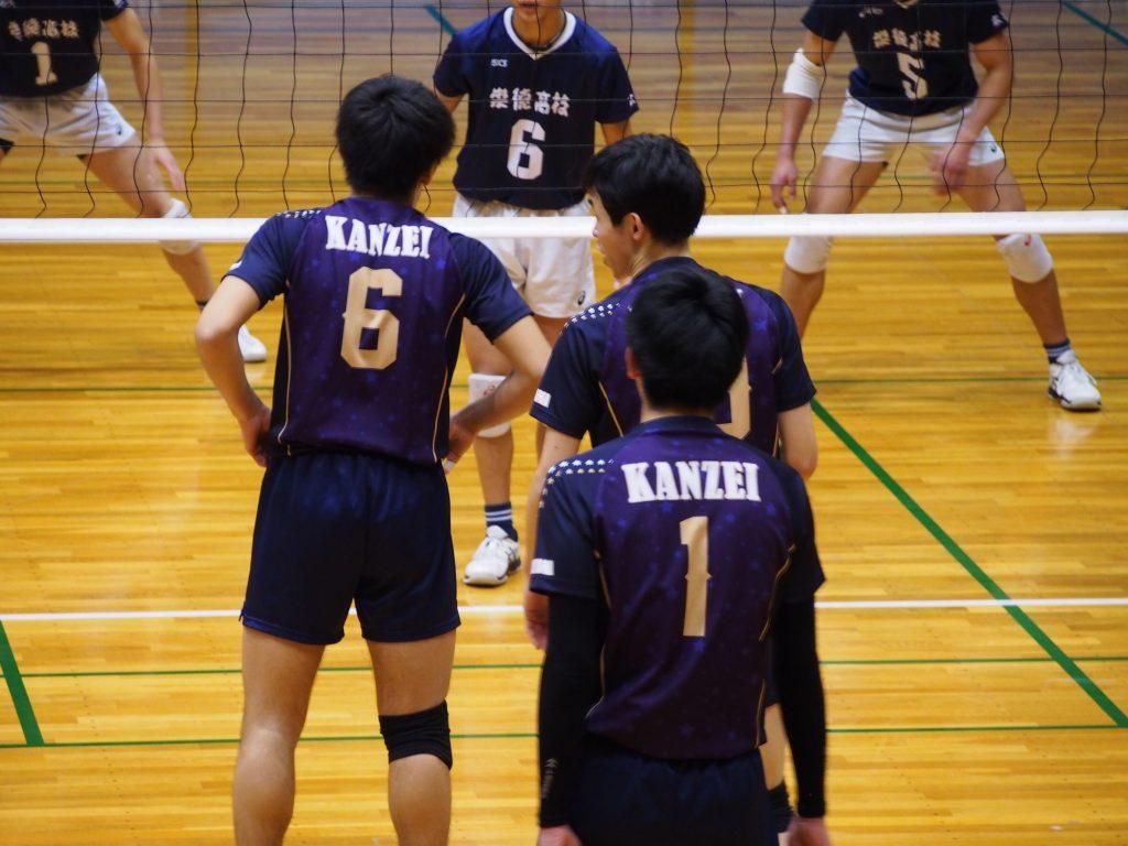 中国高等学校新人バレーボール大会