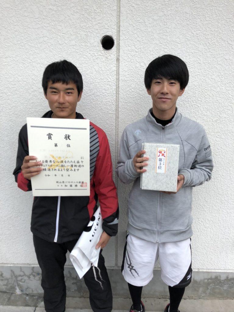岡山県技術等級ソフトテニス大会