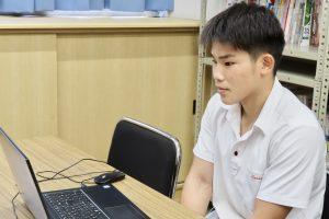 インハイ.tv「明日へのエールプロジェクト/オンラインエール授業」に本校生徒が参加!