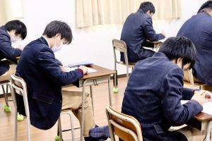 2学期期末考査スタート!!