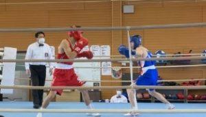 令和2年度 第32回 中国高等学校ボクシング新人大会にて、ITビジネス科2年生の藤川晃成くんがライト級で2位入賞しました。