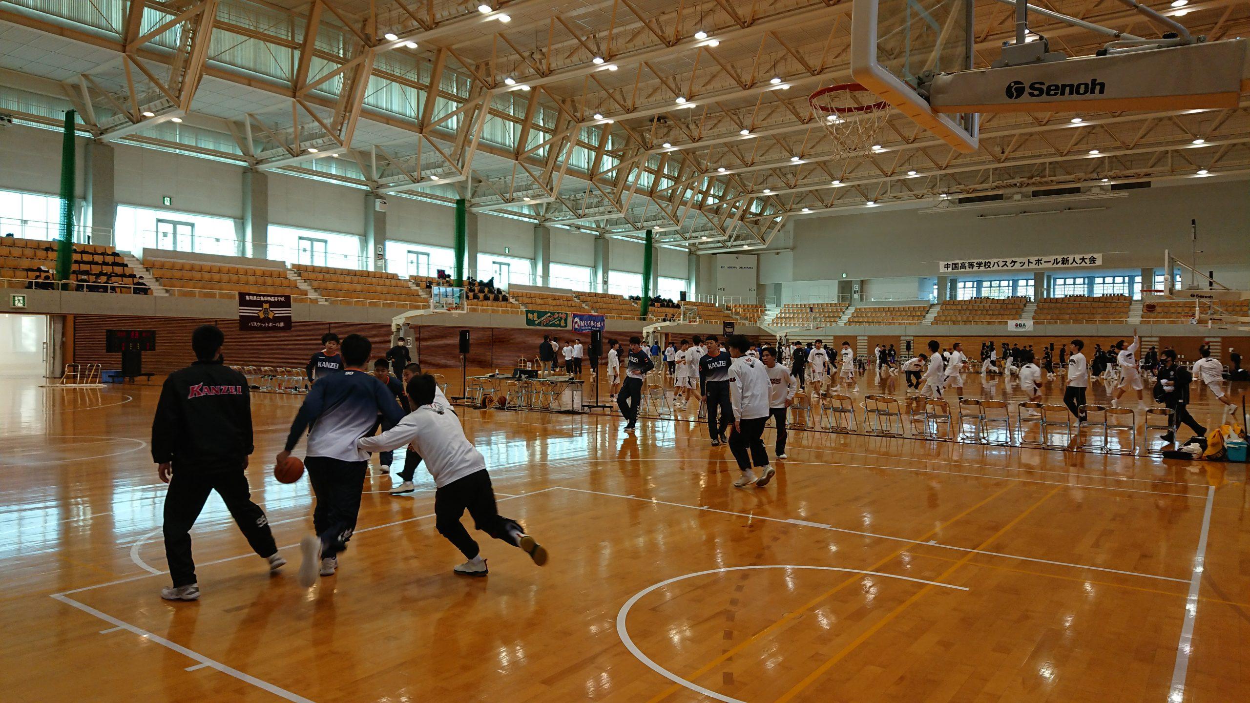 中国高等学校バスケットボール新人大会