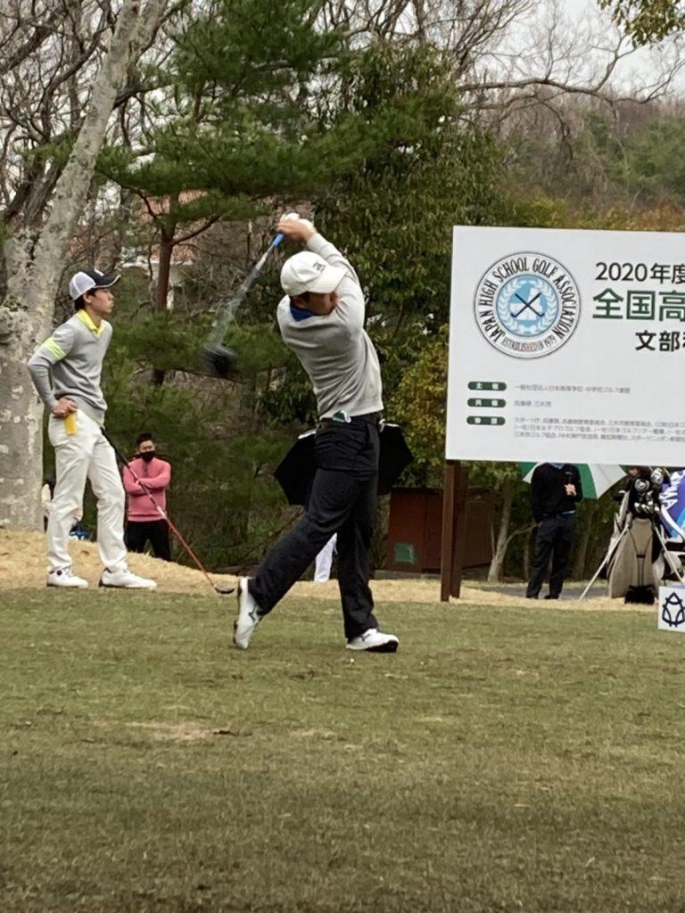 全国高等学校ゴルフ選手権春季大会2日目