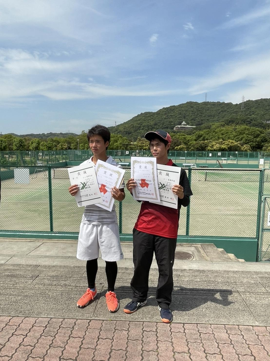 全日本・中国高等学校ソフトテニス選手権岡山県予選会 個人戦