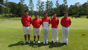 第38回 中国高等学校ゴルフ選手権大会 団体戦
