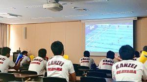 【 東京五輪・水球 】水球部の後輩部員が,高田選手を応援!