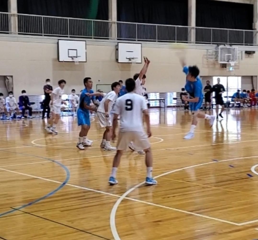 県高校ハンドボール秋季備前地区大会